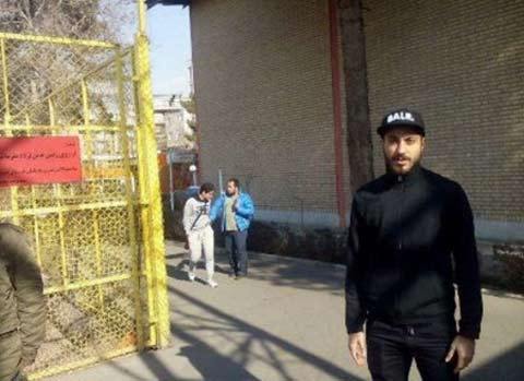 اولین عکس سوشا مکانی بعد از آزادی از زندان , اخبار ورزشی