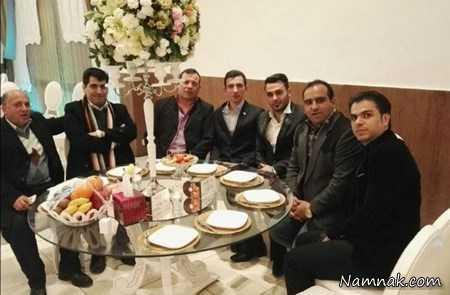 تصاویر مراسم عروسی سپهر حیدری