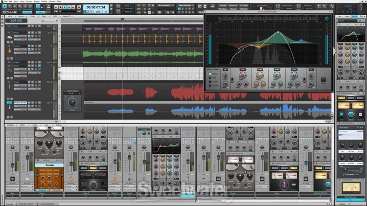 دانلود نسخه جدید سونار 10 Cakewalk SONAR Platinum 10