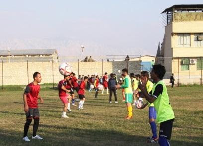 تصاویر: اولین روز بازگشت پرسپولیس برازجان به فوتبال کشور