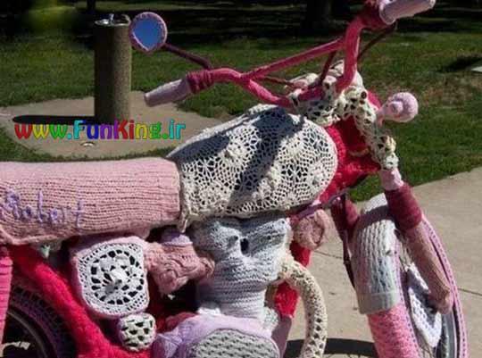 وقتی موتورسیکلت رو میدی دست دخترا!