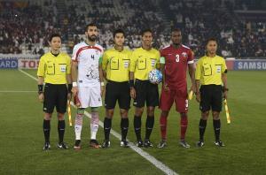 نتیجه و فیلم خلاصه بازی گلهای امید ایران قطر جمعه 25 دی 94