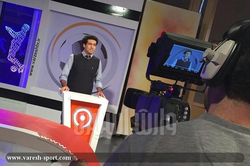 مجتبی پوربخش، استودیو ورزش