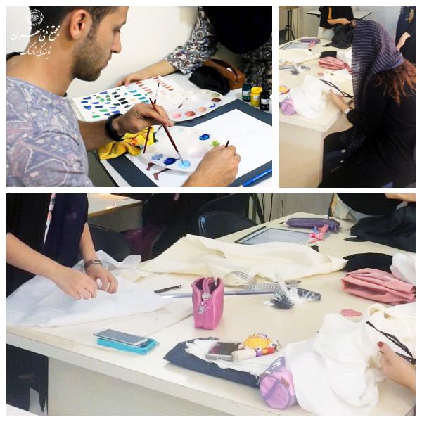 طراحی لباس مجتمع فنی تهران نمایندگی نارمک