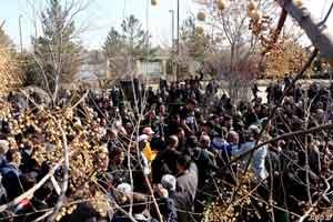 درگیری بر سر مزار رضا احدی , اخبار ورزشی
