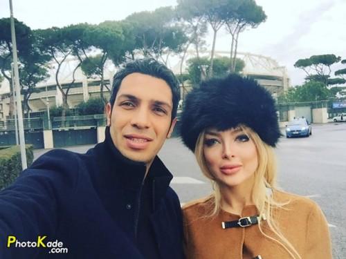 جدیدترین عکسهای سپهر حیدری و همسرش در خارج از کشور