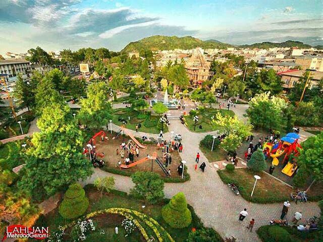 باغ ملی لاهیجان