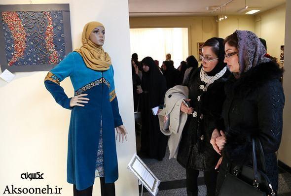 زیباترین تصاویر از نمایشگاه مد و پوشش اسلامی در ایران/همدان