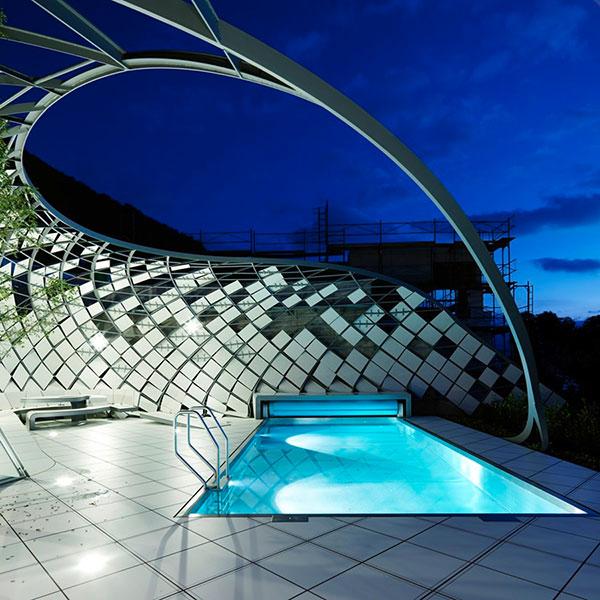 طراحی باغ خصوصی در وین