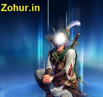 کلیپ جاری شدن خون از سنگی که سر امام حسین (ع) بر روی آن بود