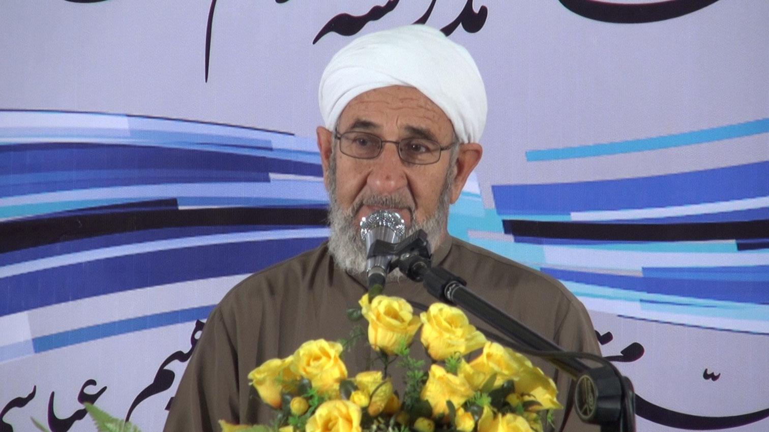 شیخ عبدالوهاب ضیایی مدیر مجتمع دینی اهل سنت وجماعت بندرعباس