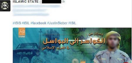 سوء استفاده داعش از محبوبیت جاستین بیبر !! , سیاسی