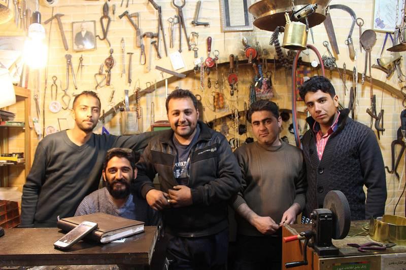 انگشترسازی - سرای مشیر - شیراز