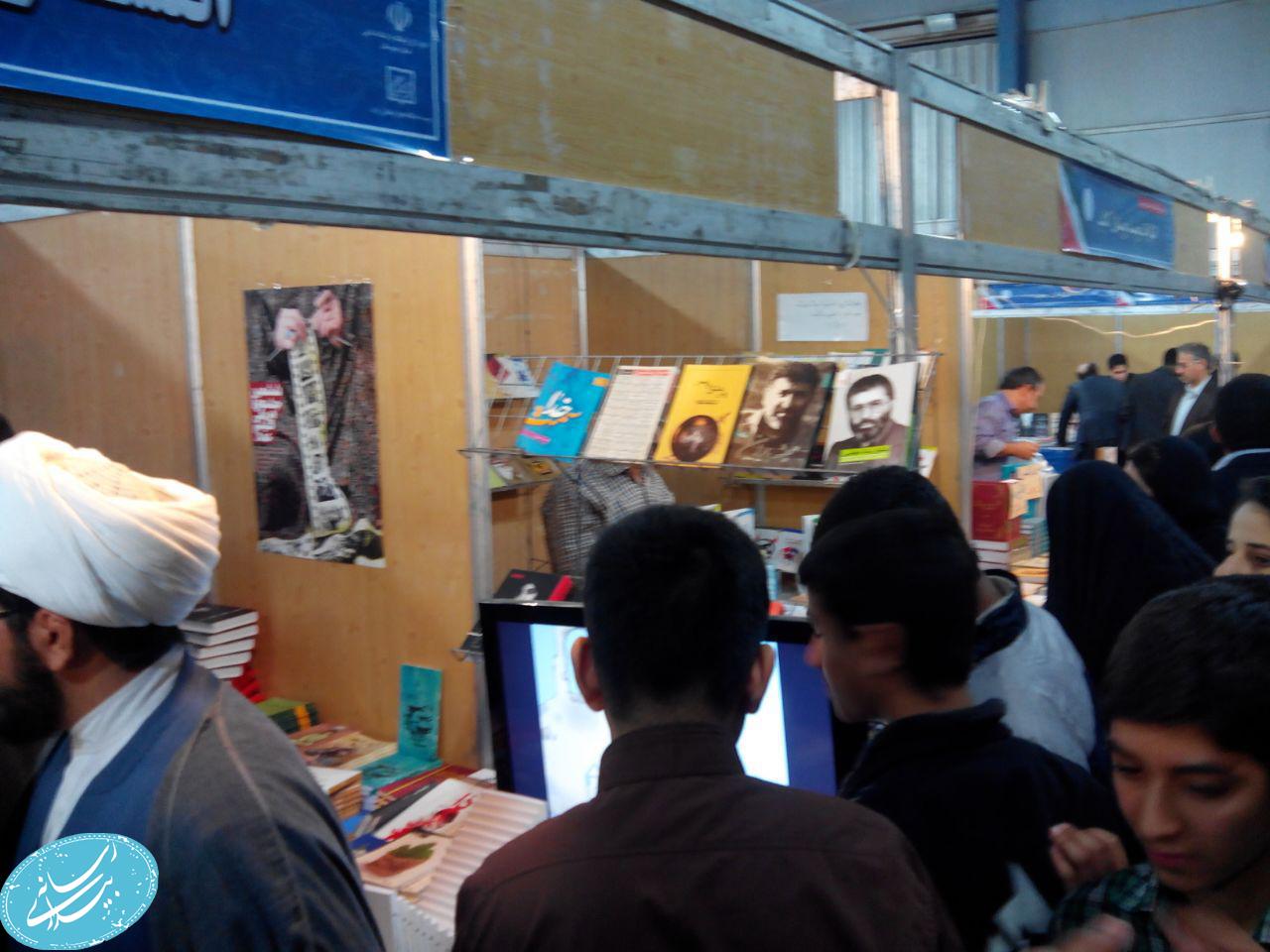 گزارش مصور از آخرین روز غرفه رسانه بیداری در نمایشگاه کتاب