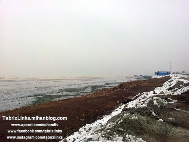 زمستان دریاچه اورمیه