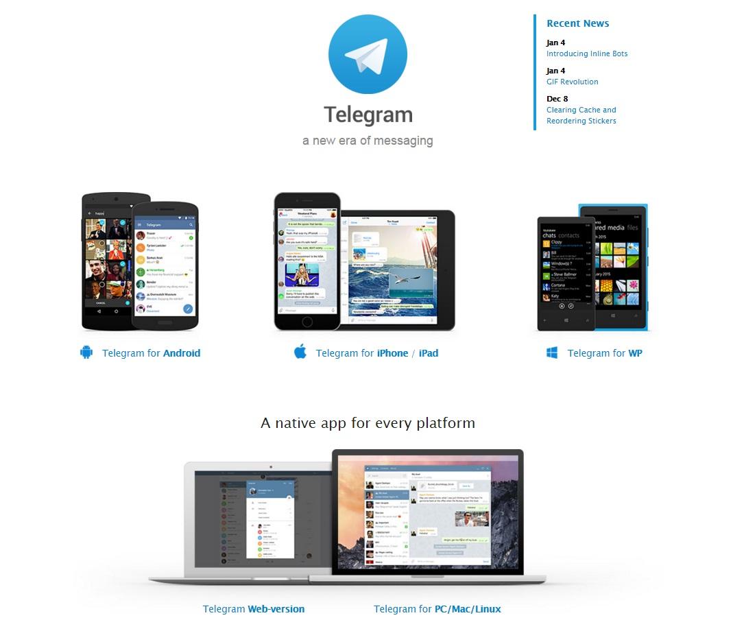 کشف حفره امنیتی  جدید تلگرام + ویدیو