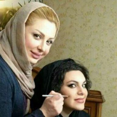 عکس جدید نیوشا ضیغمی با گریمورش , عکس بازیگران
