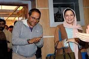 رامبد جوان در کنار همسر ناصر حجازی + عکس , چهره های ایرانی