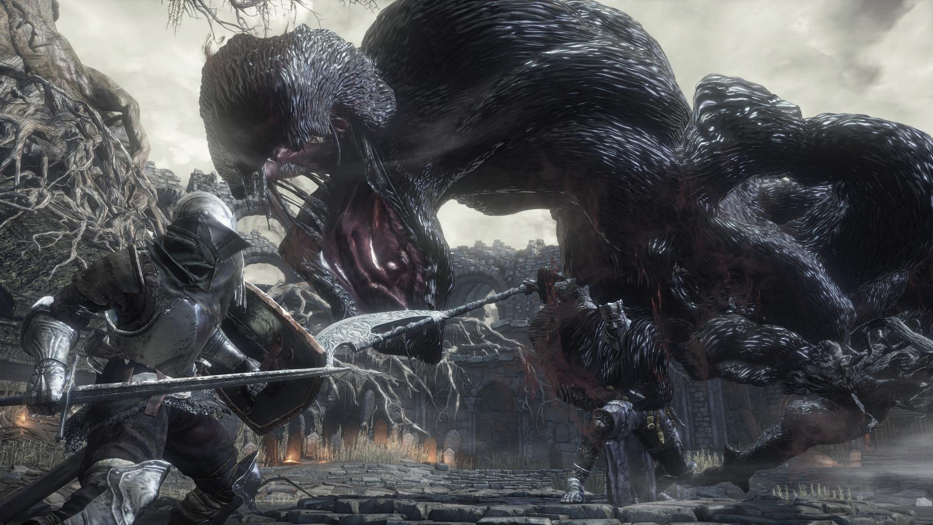 تصاویری زیبا از Dark Souls III