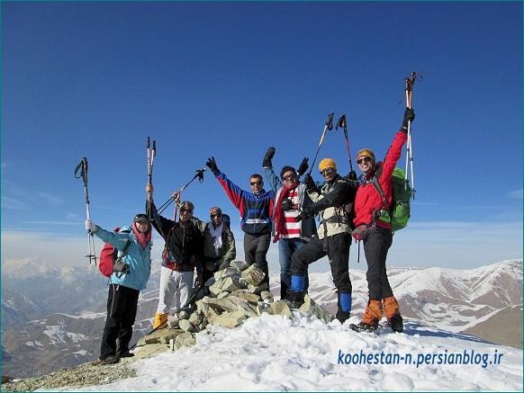 گروه نشاط زندگی - قله آهار بشم
