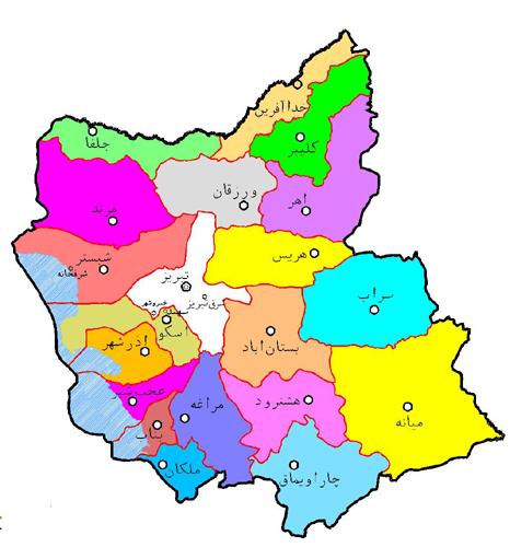هواشناسی آذربایجان شرقی