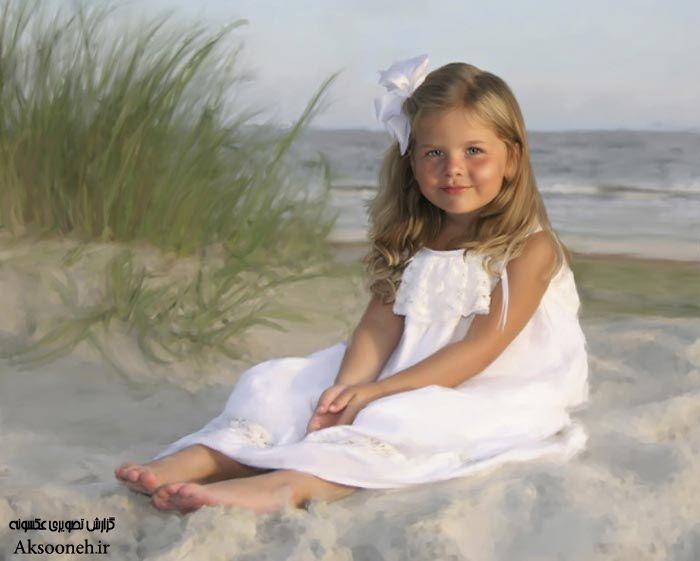 پورتره های زیبا و طبیعی از کودکان اثر ارین کلمر