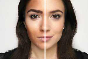 6 اشتباه بزرگ در آرایش صورت !! , آرایش و زیبایی