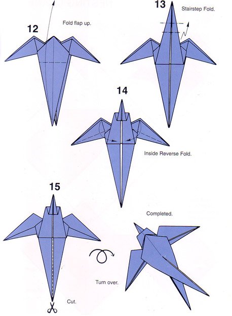 ساخت حیوانات کاغذی,اوریگامی,