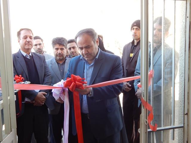 افتتاح مرکزفوریت های پزشکی شهرکرسف