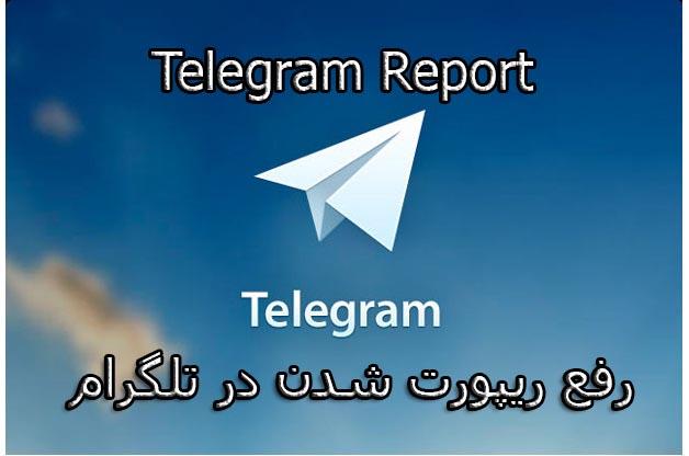 ریپورت+تلگرام