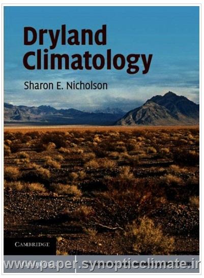 دانلود کتاب اقلیم شناسی زمین های خشک Dryland climatology Sharon E. Nicholson