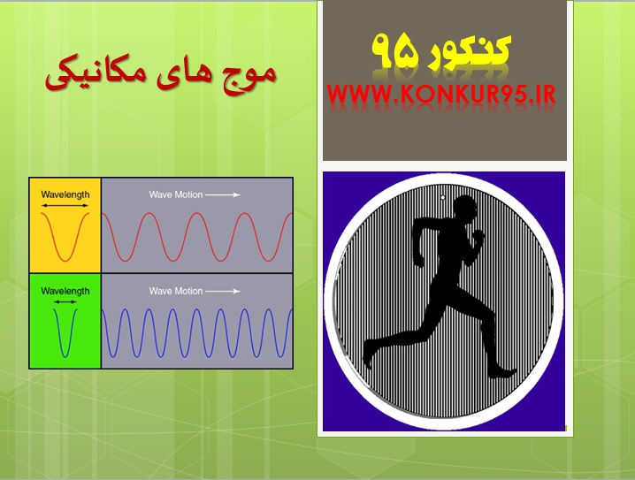 درسنامه و تست فیزیک (مبحث موج مکانیکی بخش اول )