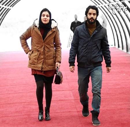 پوشش نامناسب گلوریا هاردی در جشنواره فجر /عکس , اخبار سینما