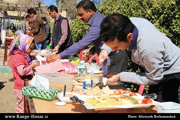 دومین جشنواره آشپزی پیک نیک طلایی زرند