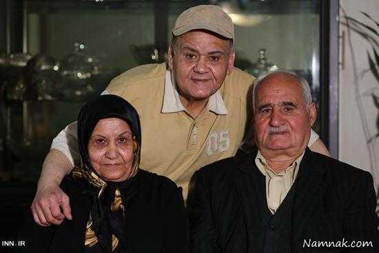 پدر اکبر عبدی بازیگر مشهور درگذشت+عکس