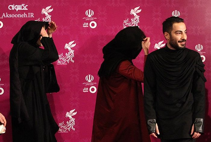 تیپ متفاوت بازیگران روی فرش قرمز جشنواره فیلم فجر