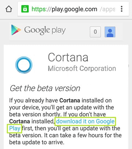 Cortana اندروید,آموزش اندروید,ترفند اندروید,دانلود کورتانا اندروید,کورتانا,نصب کورتانا اندروید,آموزش نصب دستیار کورتانا روی اندروید,how to get cortana android,کورتانا چیست,lineee.ir