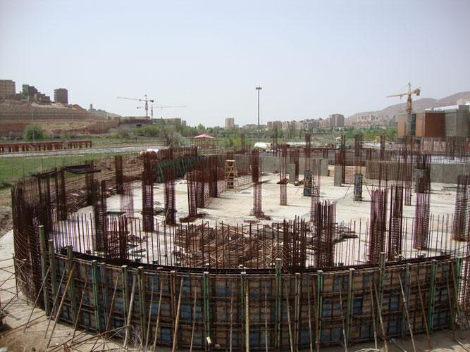 پروژه تالار تبریز