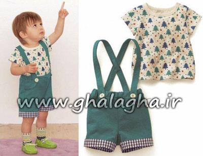 مدل های جدید لباس کودک از برندهای مطرح