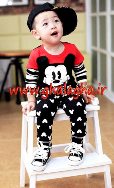 جدیدترین مدل های لباس کودک پسرانه 1 تا 3 سالگی