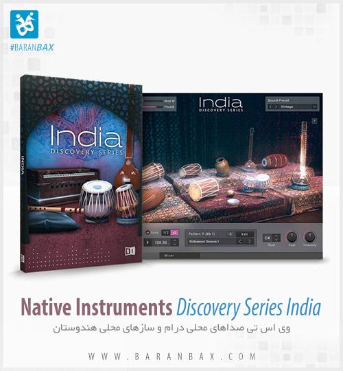 دانلود وی اس تی سازهای هندی Native Instruments Discovery Series India