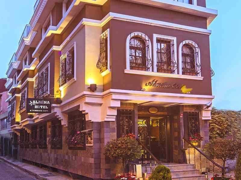 هتل آلمینا استانبول