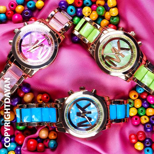 ساعت مچی دخترانه در سه رنگ