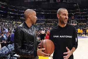 دیدار تیری آنری با ستاره بسکتبال , اخبار ورزشی