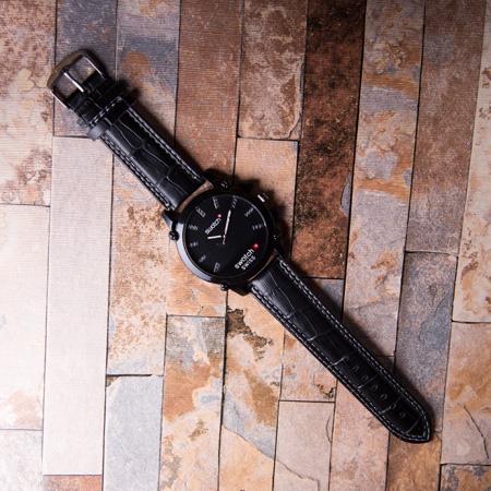 ساعت مچی مردانه سواچ مشکی