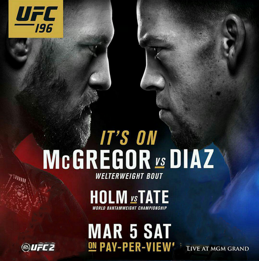 دانلود یو اف سی 196 | UFC 196:Conor McGregor Vs  Nate Diaz