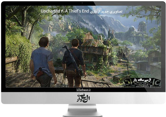 تصاویری جدید از بازی Uncharted 4: A Thief's End