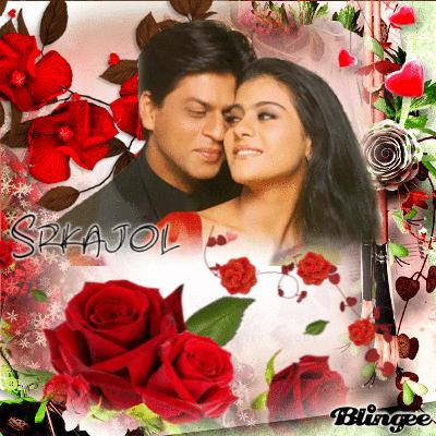 عکس بسیار زیبا و رمانتیک شاهرخ خان و کاجول
