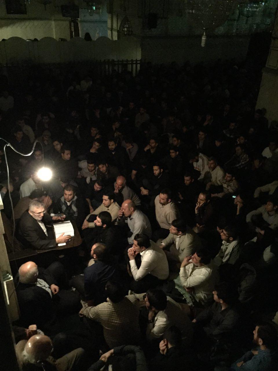 دعای درد پشت دعای کمیل 7 اسفند 1394 - دوستداران حاج منصور ارضی