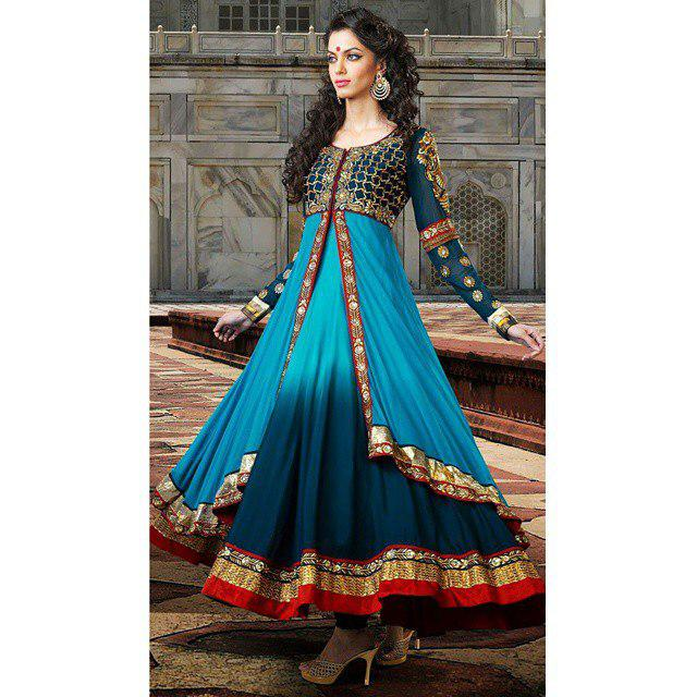 مدل زیبا لباس هندی دخترانه